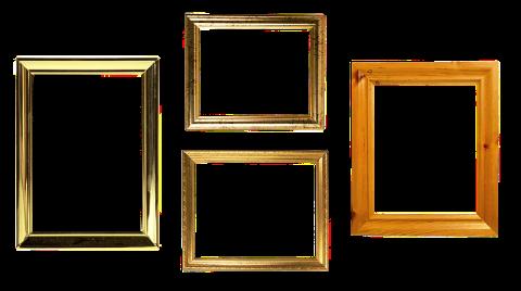 Verschiedene Rahmen bzw. Bildrahmen: Für Rahmenkredite gibt es verschieden Rahmen, bzw. Ober- und Untergrenzen!
