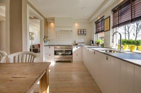 Schöne moderne Küche, die über eine günstige Küchenfinanzierung in Raten finanziert wurde