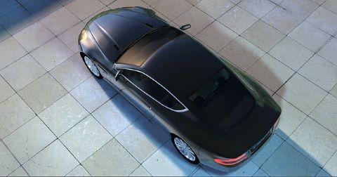 Schöner Aston Martin, der mit einer günstigen Neuwagen-Finanzierung finanziert wurde