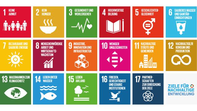 Sustainable Development Goals (SDG): Alle Ziele der UN für nachhaltige Entwicklung in einem Bild