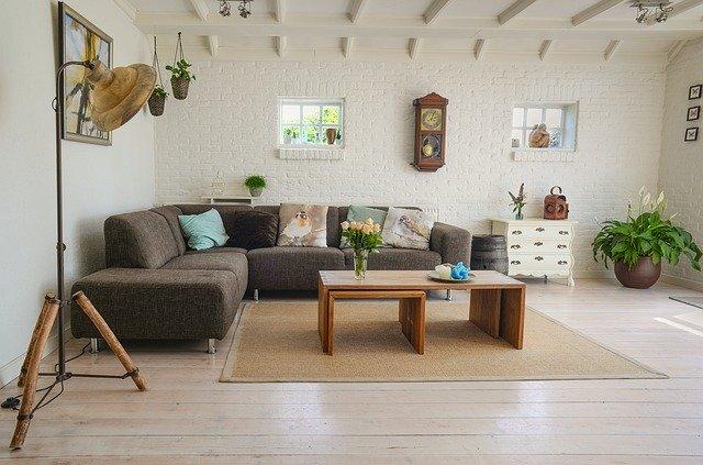 Schönes, gemütliches Wohnzimmer: Sorgen auch Sie für ein gemütliches Zuhause - mit dem Targobank Wohnkredit!