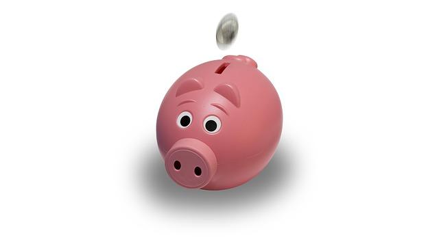 Rosa Sparschwein, weißer Hintergrund: Lösen Sie mit Hilfe der DSL Bank Umschuldung teure, bestehende Kredite ab und sparen Sie dadurch viel Geld!