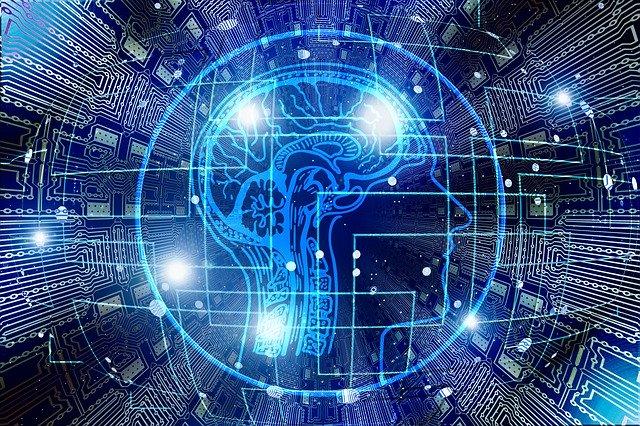 Abstraktes Bild zur künstlichen Intelligenz: Dank dem Digital Account Check (DAC) sind heute Kredite mit Bonitätsprüfung in Echtzeit, Sofortzusage und Sofortauszahlung möglich!