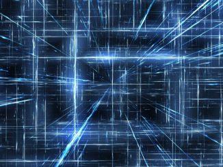 Abstraktes Bild für Netz, Netzwerk und Schnittstelle: Dank der XS2A Schnittstelle und der PSD2 API ist heute der Digital Account Check (digitale Kontoblick) möglich!