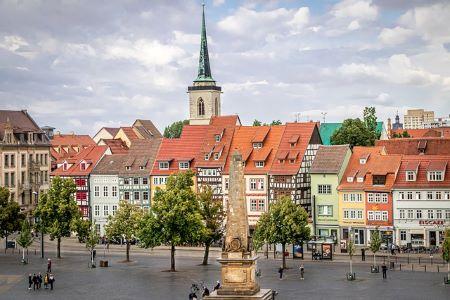 Historische Innenstadt von Erfurt: Wenn Sie in Erfurt leben und schnell Geld benötigen, sollten Sie eventuell mal beim Leihhaus Erfurt vorbeischauen!